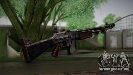 Browning M1918 für GTA San Andreas zweiten Screenshot