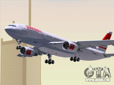 Airbus A330-223 Swiss International Airlines für GTA San Andreas Innenansicht