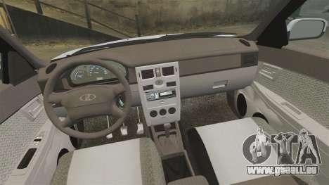 VAZ-2170 für GTA 4 obere Ansicht