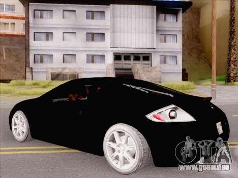 Mitsubishi Eclipse v4 für GTA San Andreas rechten Ansicht