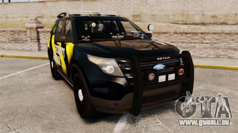 Ford Explorer 2013 Security Patrol [ELS] für GTA 4