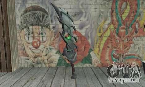 Das Schwert von World of Warcraft für GTA San Andreas zweiten Screenshot
