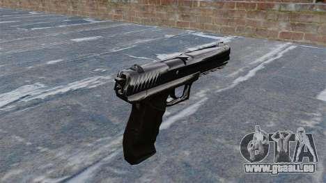 Pistolet Crysis 2 pour GTA 4 secondes d'écran