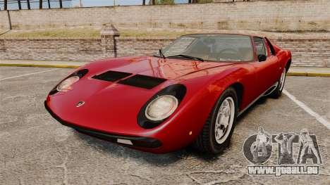 Lamborghini Miura P400 SV 1971 pour GTA 4