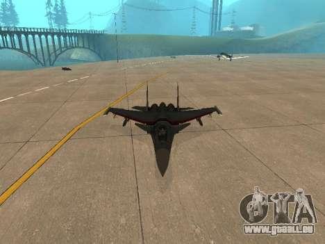 Su-33 für GTA San Andreas rechten Ansicht