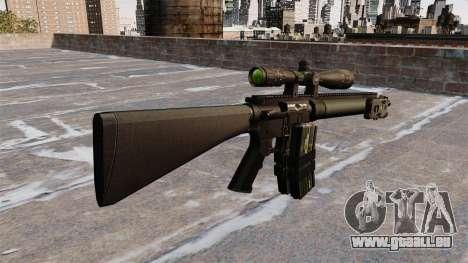 Scharfschützengewehr Mk 12 für GTA 4 Sekunden Bildschirm