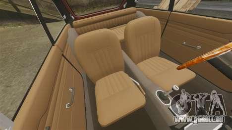 MG MGB GT 1965 pour GTA 4 est une vue de l'intérieur
