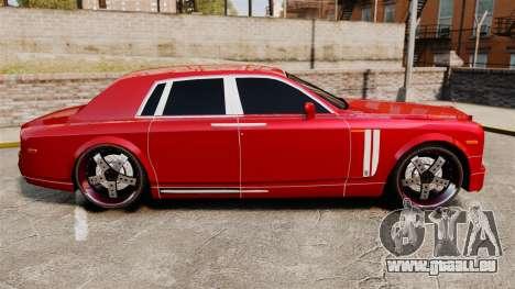Rolls-Royce Phantom Mansory pour GTA 4 est une gauche