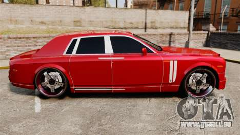 Rolls-Royce Phantom Mansory für GTA 4 linke Ansicht