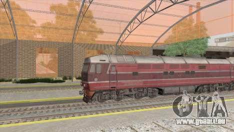 Gare de San Fierro pour GTA San Andreas deuxième écran