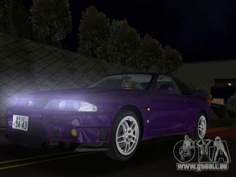 Nissan SKyline GT-R BNR33 für GTA Vice City