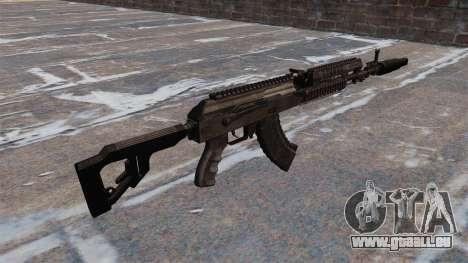 AK-103 pour GTA 4 secondes d'écran