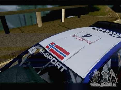 Ford Fiesta RS WRC 2013 pour GTA San Andreas vue de côté