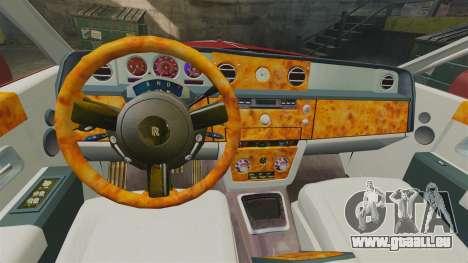 Rolls-Royce Phantom Mansory pour GTA 4 est un côté