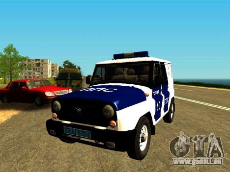 UAZ Hunter-PPP für GTA San Andreas