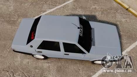 Tofas Sahin für GTA 4 rechte Ansicht