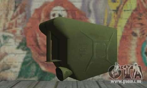 Boîte métallique pour GTA San Andreas deuxième écran