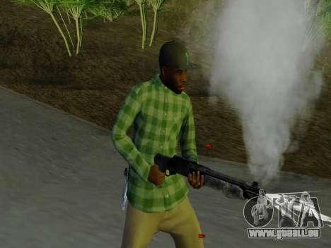 Le membre de gang de Grove Street de GTA 5 pour GTA San Andreas