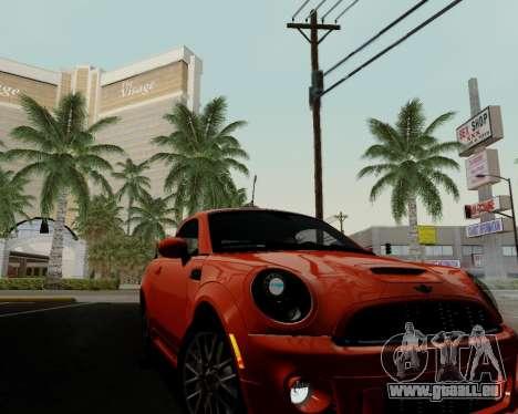 MINI Cooper S 2012 pour GTA San Andreas vue de dessous