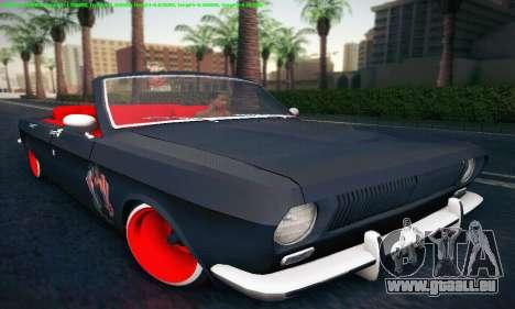 GAZ Volga 24 Cabriolet pour GTA San Andreas laissé vue