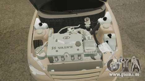 VAZ-2112-Hybrid für GTA 4 Rückansicht