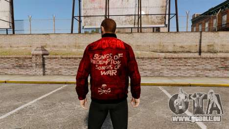 Rote Lederjacke für GTA 4 Sekunden Bildschirm