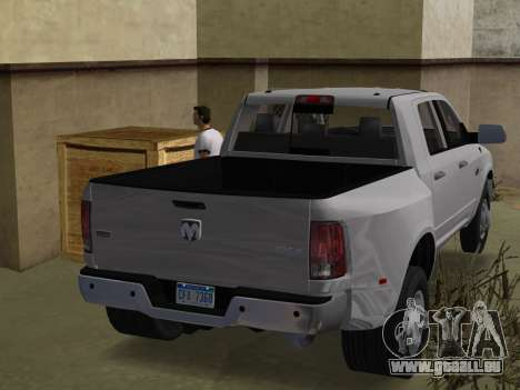 Dodge Ram 3500 Laramie 2012 für GTA Vice City linke Ansicht