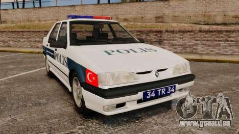 Renault 19 Turkish Police pour GTA 4