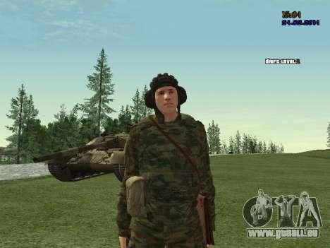 Panzerschütze für GTA San Andreas her Screenshot