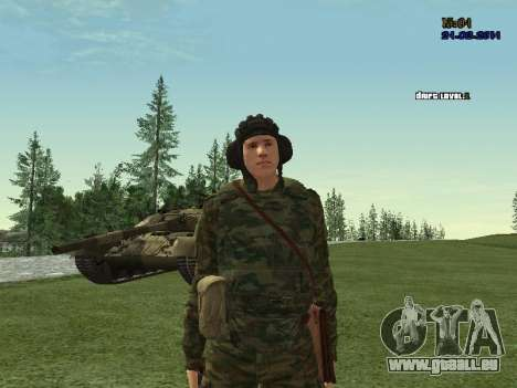 Tankman pour GTA San Andreas quatrième écran