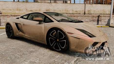 Lamborghini Gallardo 2013 v2.0 pour GTA 4 est un côté