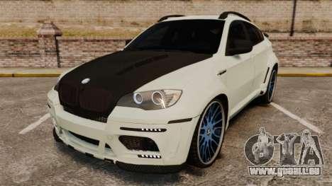 BMW X6 M HAMANN 2012 pour GTA 4