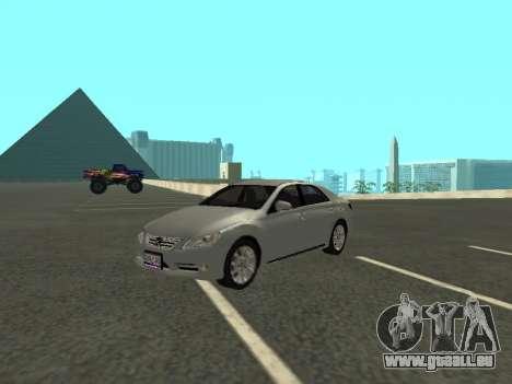 Toyota Mark X pour GTA San Andreas vue de côté