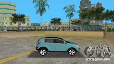 Kia Sportage pour une vue GTA Vice City de la gauche