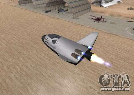 FARSCAPE modul pour GTA San Andreas vue intérieure