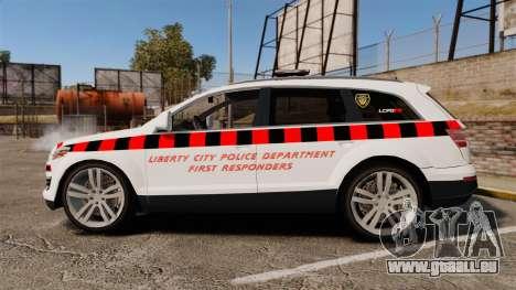 Audi Q7 Enforcer [ELS] pour GTA 4 est une gauche