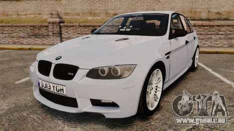 BMW M3 Unmarked Police [ELS] für GTA 4