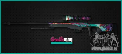 AWP from CS GO Gentleman für GTA San Andreas