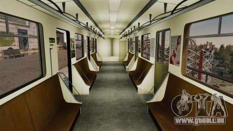 Le chef du métro de wagon modèle 81-717 pour GTA 4 secondes d'écran