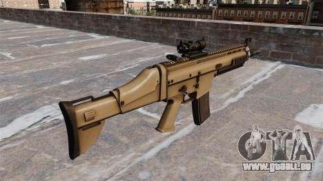 Automatische FN SCAR-L für GTA 4 Sekunden Bildschirm