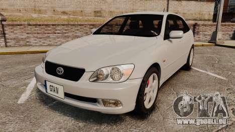 Toyota Altezza Gita pour GTA 4