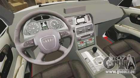 Audi Q7 Enforcer [ELS] für GTA 4 Rückansicht
