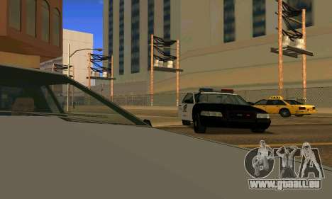 Ford Crown Victoria Police LV pour GTA San Andreas roue