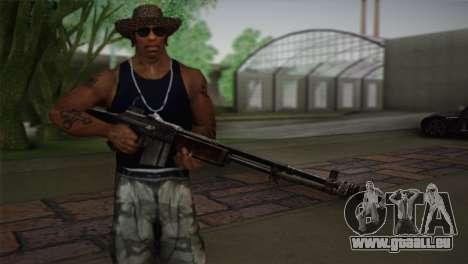 Browning M1918 für GTA San Andreas dritten Screenshot
