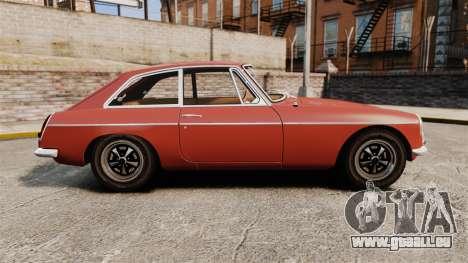 MG MGB GT 1965 pour GTA 4 est une gauche