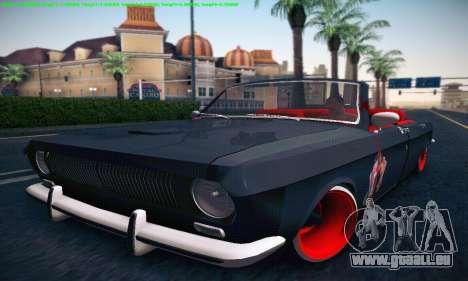 GAZ Volga 24 Cabriolet pour GTA San Andreas