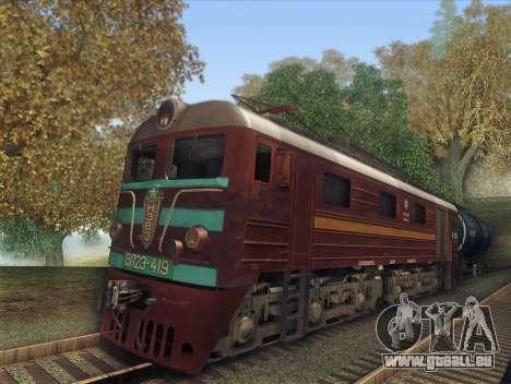 VL23-419 für GTA San Andreas Rückansicht