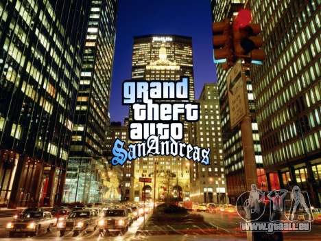 Loadscreens New-York für GTA San Andreas zweiten Screenshot