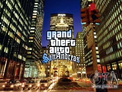 Loadscreens New-York pour GTA San Andreas deuxième écran