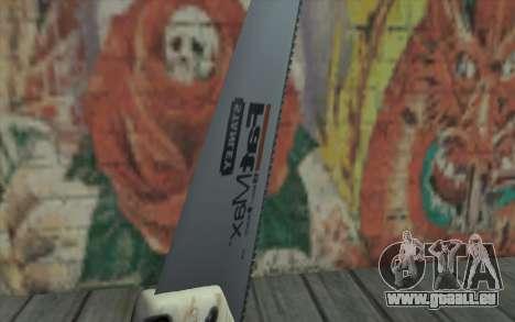 Scie circulaire à bois pour GTA San Andreas troisième écran
